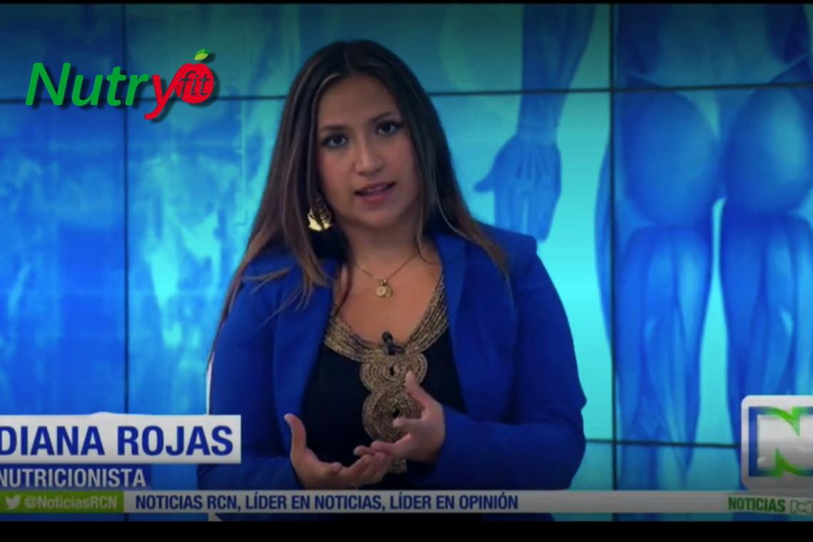 Nutricionista Diana Rojas, Nutryfit, NUtricionista Bogotá, nutricionista